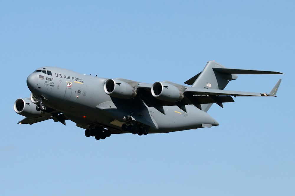 U.S. Air Force C-17 Globemaster III Demo